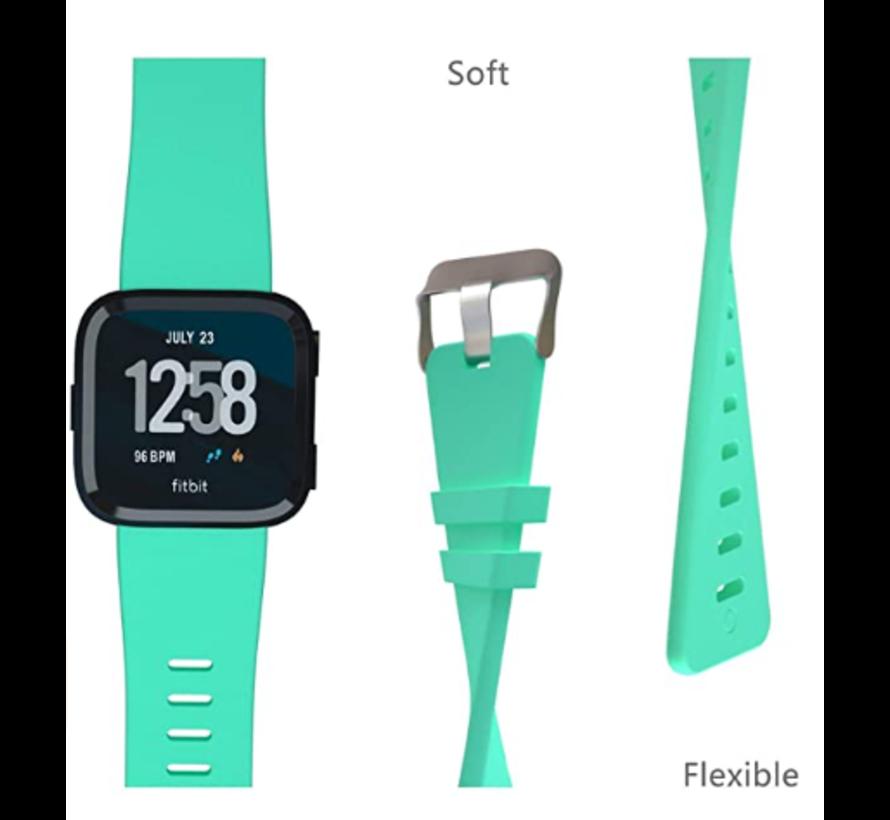 Fitbit Versa silicone band (aqua)