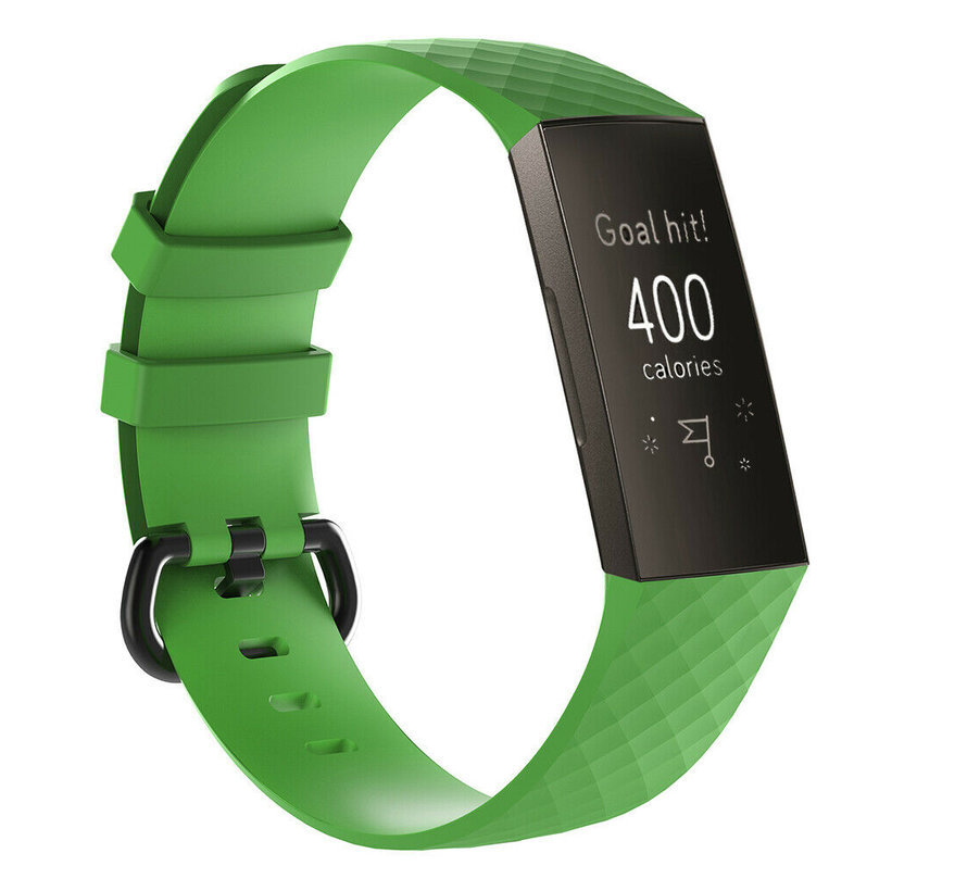 Fitbit Charge 3 silicone band (groen)