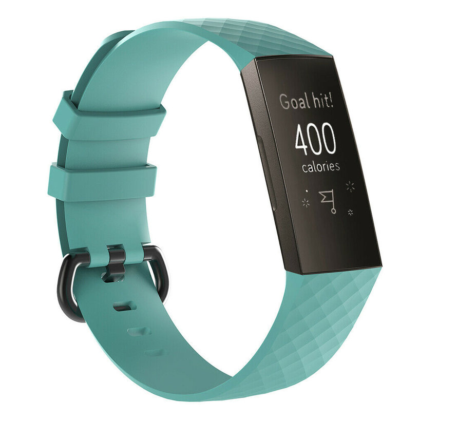 Fitbit Charge 3 silicone band (aqua)