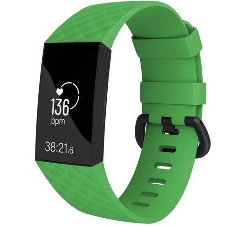 Fitbit Charge 4 silicone band (groen)