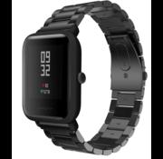 Xiaomi Amazfit Bip stalen band (zwart)