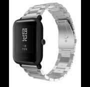 Xiaomi Amazfit Bip stalen band (zilver)