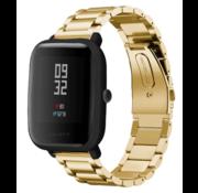 Xiaomi Amazfit Bip stalen band (goud)