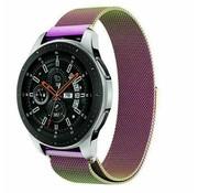 Samsung Galaxy Watch Milanese band (regenboog)