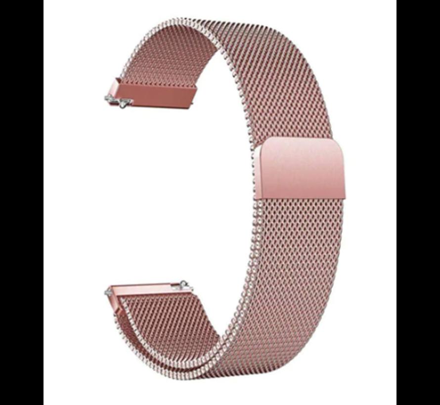 Samsung Galaxy Watch Milanese band (roze)