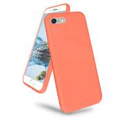 ShieldCase® iPhone 7 / iPhone 8 / iPhone SE 2020 hoesje siliconen (oranje)