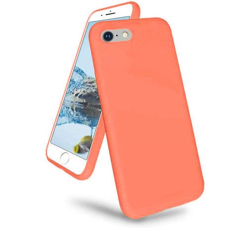 ShieldCase® Shieldcase iPhone 7 / iPhone 8 / iPhone SE 2020 hoesje siliconen (oranje)