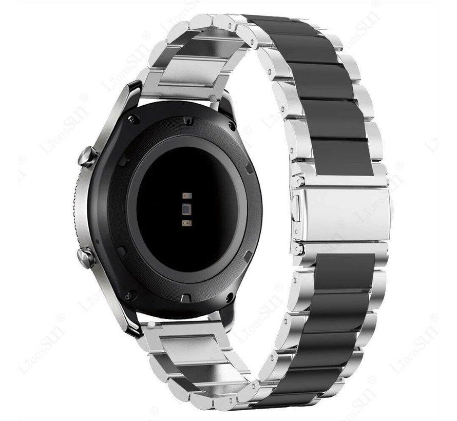 Huawei Watch GT metalen bandje (zilver/zwart)