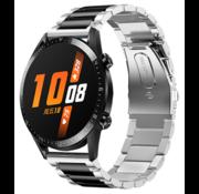 Huawei Watch GT stalen bandje (zilver/zwart)