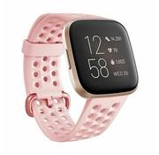 Fitbit Versa siliconen bandje met gaatjes (roze)