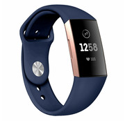 Fitbit Charge 3 sport band (donkerblauw)