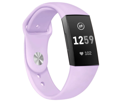Fitbit Charge 3 sport band (lavendel)