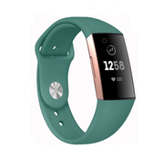 Fitbit Charge 3 sport band (dennengroen)