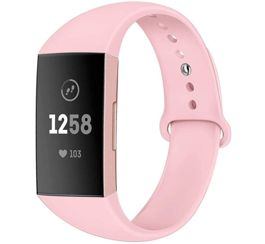 Fitbit Charge 4 sport band (roze)