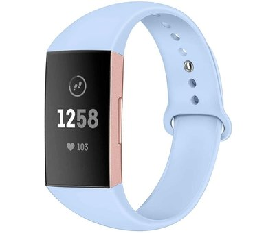 Fitbit Charge 4 sport band (lichtblauw)