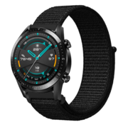 Huawei Watch GT nylon band (zwart)