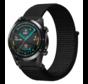 Huawei Watch GT nylon band (zwart)