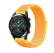 Huawei Watch GT nylon band (lichtgeel)