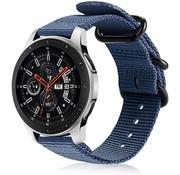 Samsung Galaxy Watch nylon gesp band (blauw)