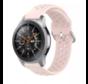 Samsung Galaxy Watch siliconen bandje met gaatjes (roze)