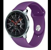 Samsung Galaxy Watch sport band (paars)
