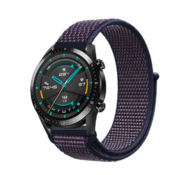 Huawei Watch GT nylon band (paars-blauw)