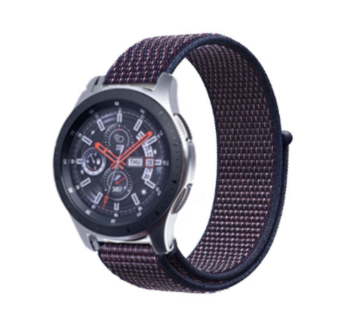 Samsung Galaxy Watch nylon band (paars-blauw)