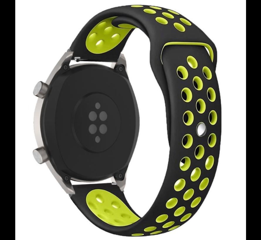 Xiaomi Amazfit GTR sport band (zwart/geel)
