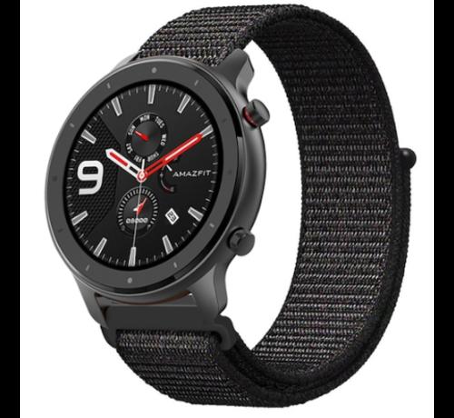 Xiaomi Amazfit GTR nylon band (zwart)