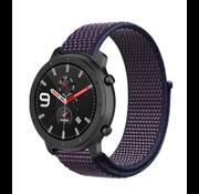 Xiaomi Amazfit GTR nylon band (paars-blauw)