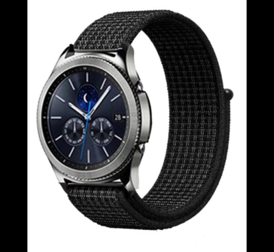 Samsung Gear S3 nylon band (zwart)