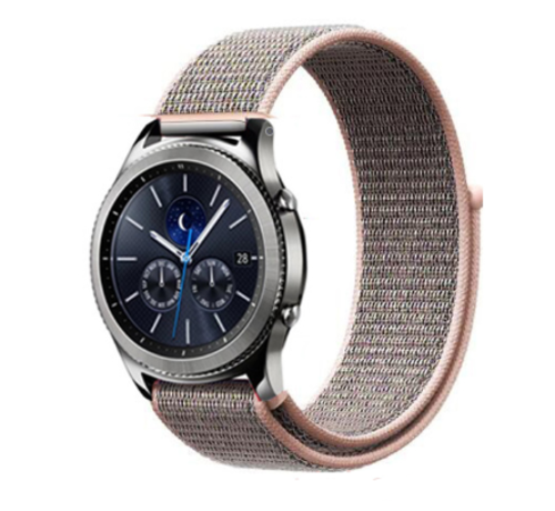 Samsung Gear S3 nylon band (pink sand)