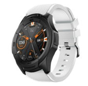 Ticwatch Pro silicone band (wit)