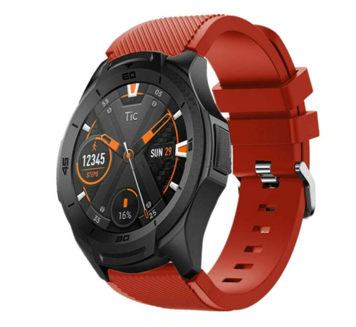 Ticwatch Pro silicone band (rood)