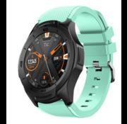 Ticwatch Pro silicone band (aqua)