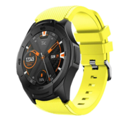 Ticwatch Pro silicone band (geel)