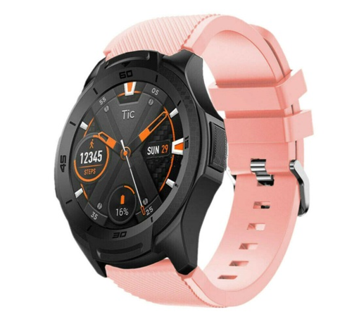 Ticwatch Pro silicone band (roze)