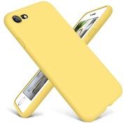 ShieldCase® Siliconen hoesje met camera bescherming iPhone 7 / 8 (geel)