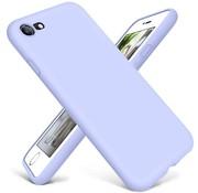 ShieldCase® Siliconen hoesje met camera bescherming iPhone 7 / 8 (paars)