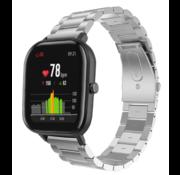 Xiaomi Amazfit GTS stalen band (zilver)