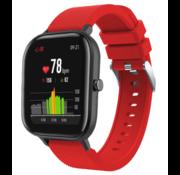 Xiaomi Amazfit GTS siliconen bandje (rood)