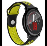 Ticwatch Pro sport band (zwart/geel)