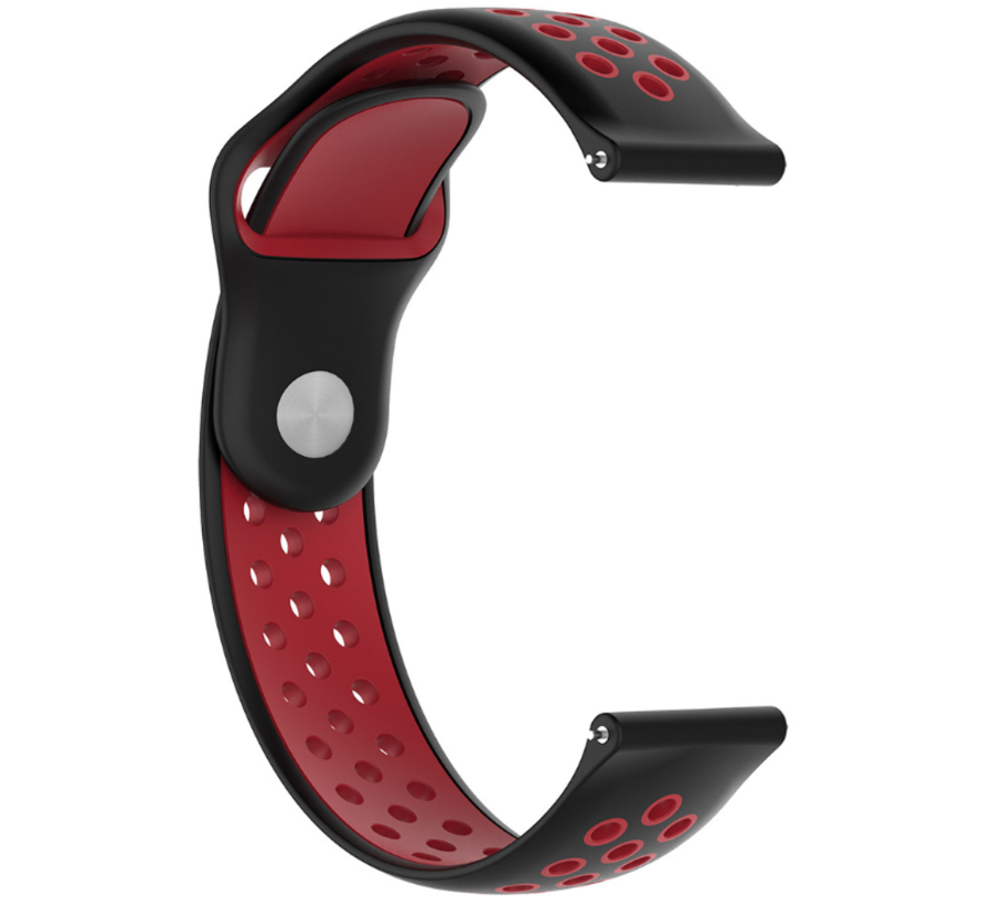 Samsung Gear S3 sport band (zwart/rood)