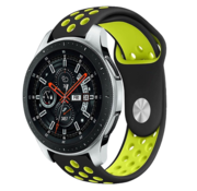 Samsung Galaxy Watch sport band (zwart/geel)