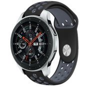 Samsung Galaxy Watch sport band (zwart/grijs)