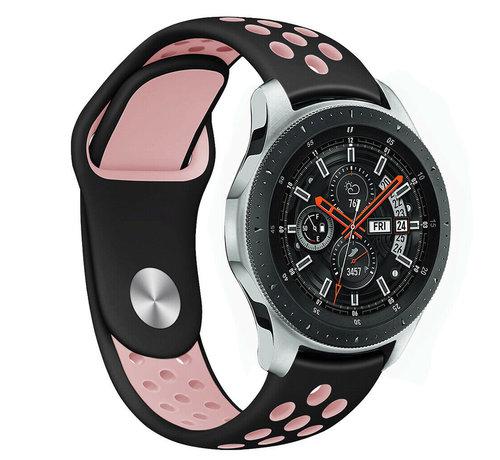 Samsung Galaxy Watch sport band (zwart/roze)