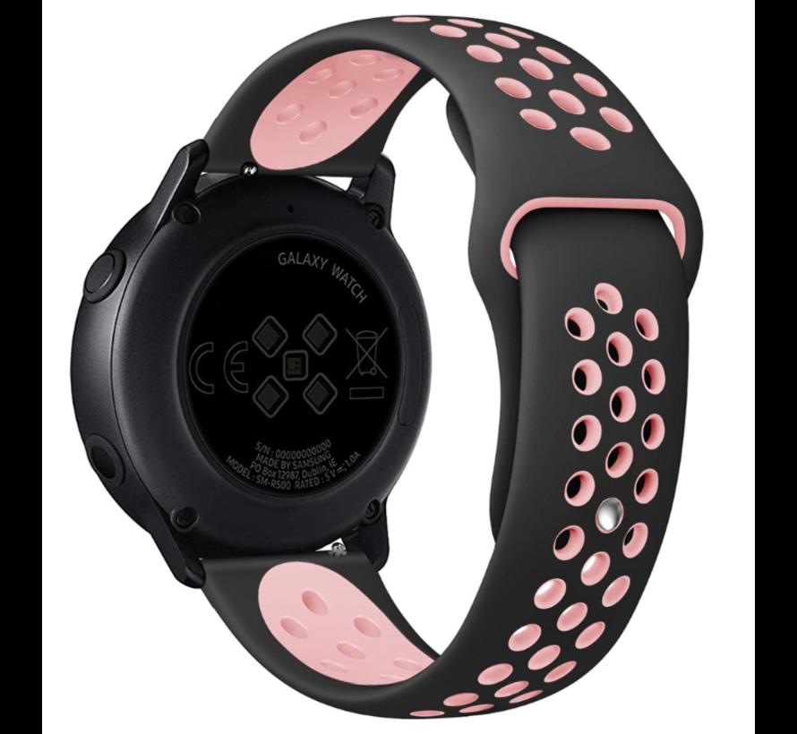 Huawei Watch GT sport bandje (zwart/roze)