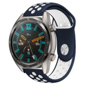 Huawei Watch GT sport bandje (blauw/wit)