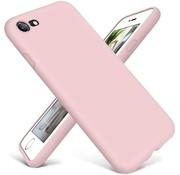 ShieldCase® Siliconen hoesje met camera bescherming iPhone SE 2020 (roze)