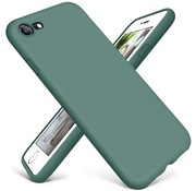 ShieldCase® Siliconen hoesje met camera bescherming iPhone SE 2020 (donkergroen)